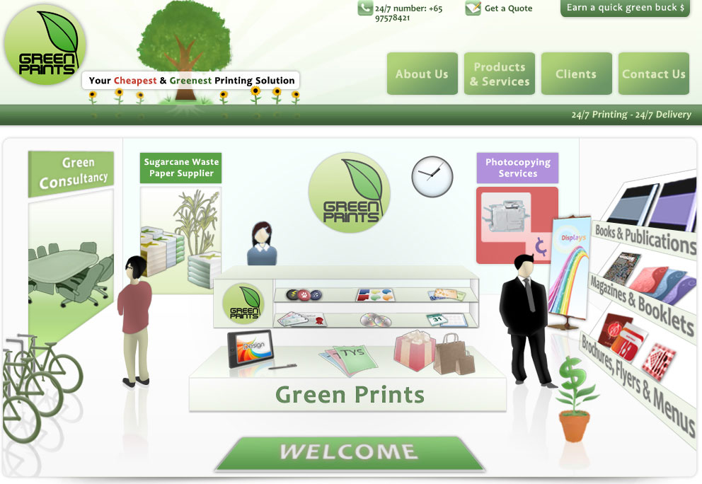 Green Prints Web Design